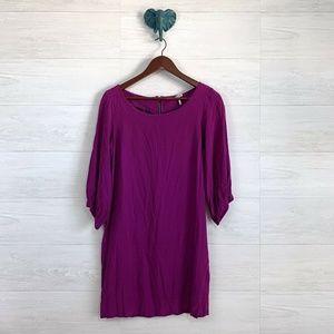 Splendid Fuschia Purple Bubble Half Slv Dress